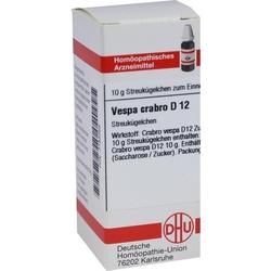 VESPA CRABRO D 12 Globuli 10 g