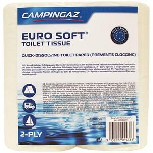 Campingaz Euro Soft Toilettenpapier, 4 Rollen