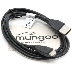 USB Datenkabel kompatibel für Sony Xperia 1, 10, 10 Plus, L1, L2, L3, X Compact, XA1, XA1 Plus, XA1 Ultra, XA2, XA2 Plus, XA2 Ultra, XZ Typ-C Ladekabel Daten Kabel OTB mit mungoo Displayputztuch