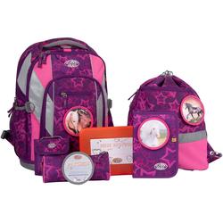 SCHOOL-MOOD® Schulranzen Loop Air, Lea (Set)