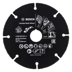BOSCH Trennscheibe Trennscheibe Hartmetall Multi Wheel. 125 mm. 22.23