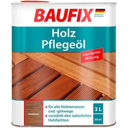Baufix Teakholzöl Nussbaum, 3 Liter, braun