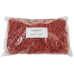 WBV Gummiringe   rot 1000,0 g