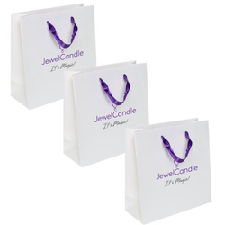 Juwelkerze Juwelcandle 3 x Paperbag Tasche Its Magic - Ideal für Ihre Juwelkerze