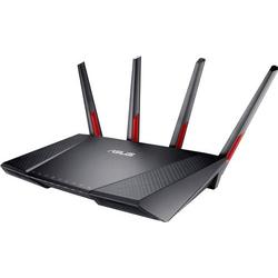 Asus DSL-AC68VG VOIP WLAN Router mit Modem Integriertes Modem: VDSL, ADSL, ADSL2+ 2.4GHz, 5GHz