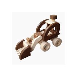 goki Spielzeug-Radlader Radlader, goki nature, Massiv Holz