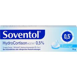 SOVENTOL Hydrocortisonacetat 0,5% Creme 15 g