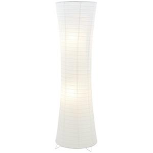 Basispreis* for friends Papier-Stehleuchte, 2-flammig Weiß ¦ weiß ¦ Maße (cm): H: 122 Ø: [38.0]