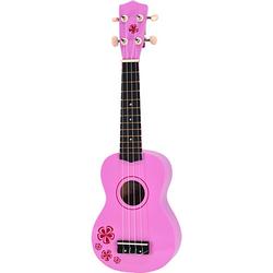 Kindergitarre Pink Lady (Ukulele) 54 cm pink