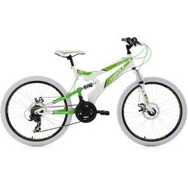 KS-CYCLING Topeka 24 Zoll RH 41 cm weiß/grün