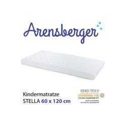 Kindermatratze Arensberger STELLA Kindermatratze, 60cm x 120cm, Arensberger, 10 cm hoch