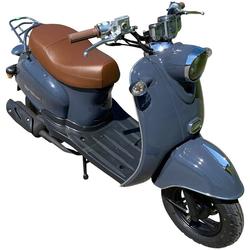 AGM MOTORS Mofaroller GMX 460 Retro Classic, 50 ccm, 25 km/h, Euro 4 blau