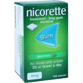 Nicorette Freshmint 2 mg Kaugummi 105 St.