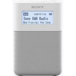 Sony XDR-V20D Radiowecker DAB+, UKW AUX Weiß