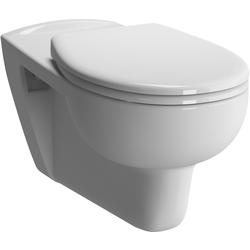 Vitra Conforma Wand-Flachspül-WC 5811B003-0075 weiß, 35,5x70cm, Rollstuhlgerecht, Sitzhöhe 48cm