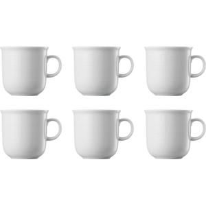 Thomas Trend Weiss Kaffeebecher-Set 6tlg.
