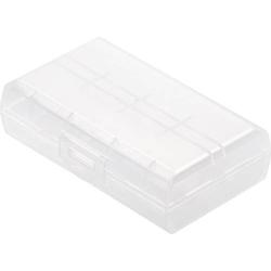 Basetech BT-Box-019 Batteriebox 2x 18650, 16340 (L x B x H) 72.2 x 44.6 x 22.2mm