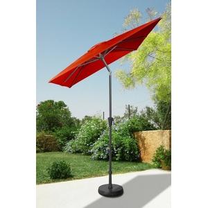 garten gut Sonnenschirm, LxB: 160x230 cm, abknickbar, ohne Schirmständer rot