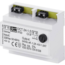 Block DCT 24-2,5 Ungeregelte Gleichstromversorgung 24 V/DC 2.5A 60W 1 x