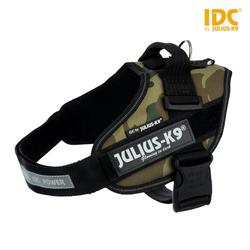 Julius-K9 IDC Powergeschirr camouflage, Größe: Mini / M