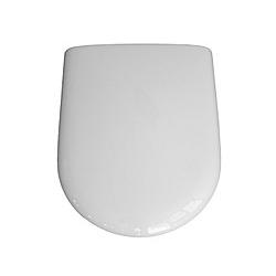 VCM WC Sitz Toilettendeckel Deckel Brille Toilettensitz Klositz Klodeckel Luna -  Klobrille Klo Toilette - Weiß VCM WC-Sitz Deckel (Farbe: Weiß)