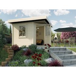 weka Gartenhaus Designhaus 213 Gr.2, BxT: 338x338 cm