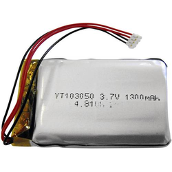 Mini-Alarmanlagen-Akku 3.7V 1300 mAh