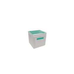 HTI-Line Aufbewahrungsbox Aufbewahrungsbox mit Deckel Paloma, Stoffbox grün