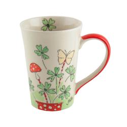 Mila Becher Mila Keramik-Tee-Becher Viel Glück, Keramik