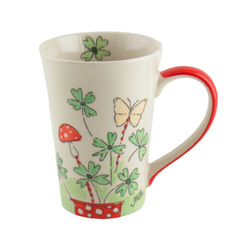 Mila Becher Mila Keramik-Tee-Becher Viel Glück