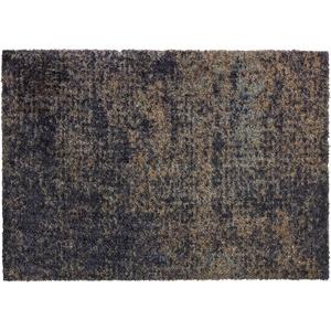 Schöner Wohnen Fußmatte Manhattan Design 002, Farbe 044 Vintage anthrazit 67 x 100  cm