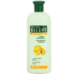 Subrina Professional Recept Sensitive Action Shampoo gegen Schuppen für empfindliche Kopfhaut Octopirox & Marigold 400 ml