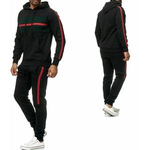 Trainingsanzug Sportanzug Jogginganzug Trainings Hose Pullover Schwarz