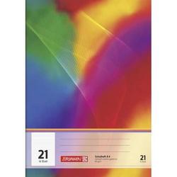 Schulheft A4 Lineatur 21 16 Blatt Brunnen-Design