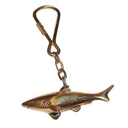 M&M Messing Schlüsselanhänger - Hai