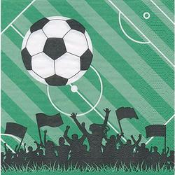 """Papierservietten """"Fußball"""", 33 x 33 cm, 20 Stück"""