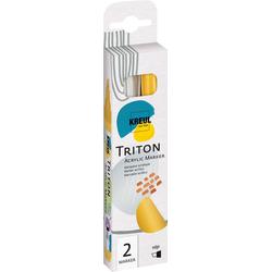 Kreul Marker Acrylfarbstifte-Set Triton Acrylic Paint Marker 1., 2 Stück