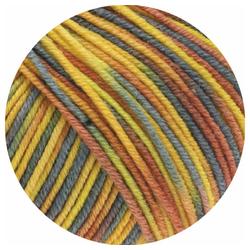 LANA GROSSA Cool Wool Print Häkelwolle, (50 Gramm), kuschelige, mehrfarbige Babywolle