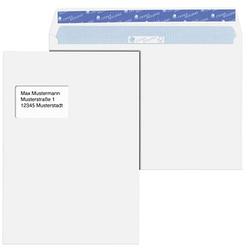 MAILmedia Versandtaschen Cygnus Excellence® DIN C4 mit Fenster weiß 25 St.