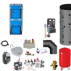 Atmos GSX70 Scheitholzvergaser / Holzvergaser | 70 kW | Komplettset 3