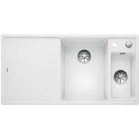 Blanco Axia III 6 S rechts weiß + Excenterbetätigung + InFino + Glasschneidbrett