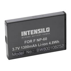 INTENSILO Li-Ion Akku 1300mAh (3.7V) für Funkgerät Baofeng UV-100, UV-200, UV-3R, UV-3R Mark II 2 wie NP-60, DB40.