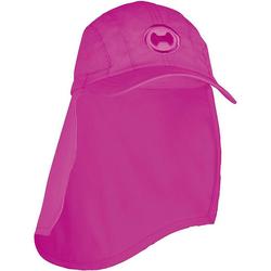 hyphen Sonnenhut Kinder UV-Schutz Sonnenhut mit Nackenschutz rosa 50-52