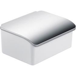 Keuco Feuchttücherbox Elegance, mit Porzellanbehälter, Wandmontage