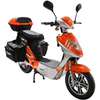 Rolektro eco-City 20 V.2 PLUS 500 Watt 45 km/h orange/silber inkl.Topcase