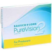 Bausch + Lomb PureVision2 for Presbyopia 3 St. / 8.60 BC / 14.00 DIA / -8.50 DPT / High ADD