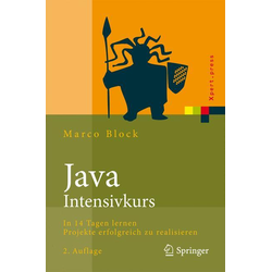 Java-Intensivkurs als Buch von Marco Block