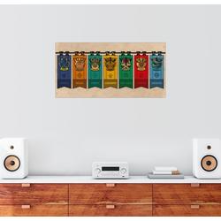 Posterlounge Wandbild, Drachen Wappen 80 cm x 40 cm