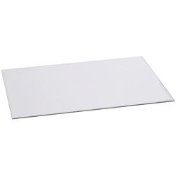 FIREFIX Glasvorlegeplatte rechteckig, 1200 x 550 mm weiß
