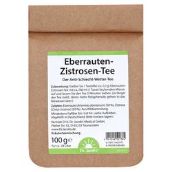 EBERRAUTEN-Zistrosen-Tee Dr.Jacob's 100 Gramm